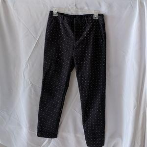 Zara polka dot trousers size small